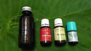 aroma massage oil
